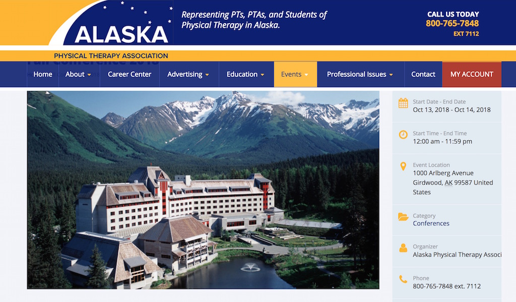 Alaska Physical Therapy Association Fall Conference
